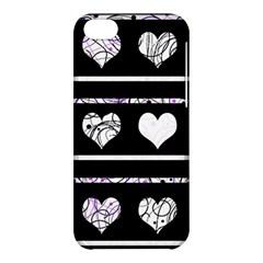 Elegant harts pattern Apple iPhone 5C Hardshell Case