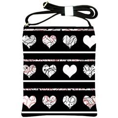 Elegant harts pattern Shoulder Sling Bags