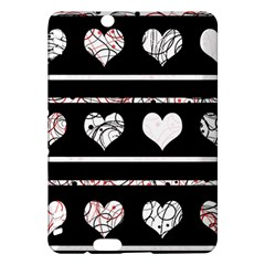 Elegant harts pattern Kindle Fire HDX Hardshell Case