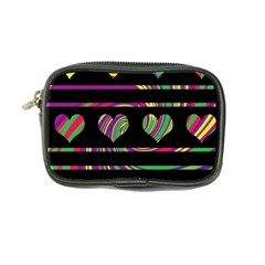 Colorful harts pattern Coin Purse