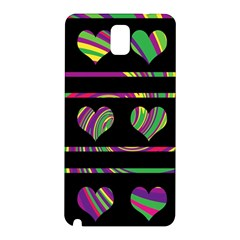 Colorful harts pattern Samsung Galaxy Note 3 N9005 Hardshell Back Case