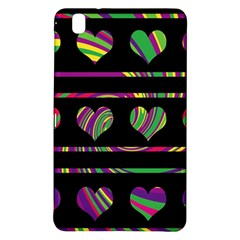 Colorful harts pattern Samsung Galaxy Tab Pro 8.4 Hardshell Case