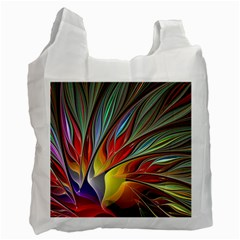 Fractal Bird of Paradise Recycle Bag (One Side)