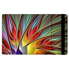 Fractal Bird of Paradise Apple iPad 3/4 Flip Case