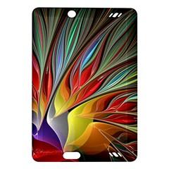 Fractal Bird of Paradise Amazon Kindle Fire HD (2013) Hardshell Case