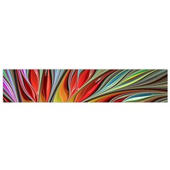 Fractal Bird of Paradise Flano Scarf (Small)