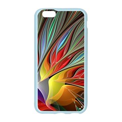 Fractal Bird of Paradise Apple Seamless iPhone 6/6S Case (Color)