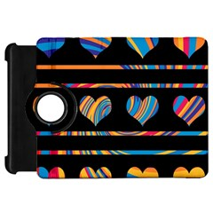 Colorful harts pattern Kindle Fire HD 7