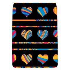 Colorful harts pattern Flap Covers (S)