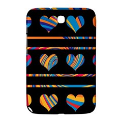 Colorful harts pattern Samsung Galaxy Note 8.0 N5100 Hardshell Case