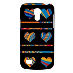 Colorful harts pattern Galaxy S4 Mini