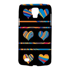 Colorful harts pattern Galaxy S4 Active