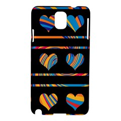 Colorful harts pattern Samsung Galaxy Note 3 N9005 Hardshell Case