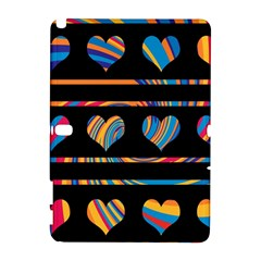 Colorful harts pattern Galaxy Note 1