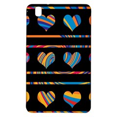 Colorful harts pattern Samsung Galaxy Tab Pro 8.4 Hardshell Case