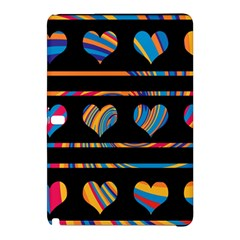 Colorful harts pattern Samsung Galaxy Tab Pro 12.2 Hardshell Case