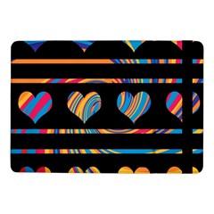 Colorful harts pattern Samsung Galaxy Tab Pro 10.1  Flip Case