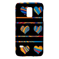Colorful harts pattern Galaxy S5 Mini