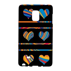 Colorful harts pattern Galaxy Note Edge