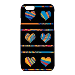 Colorful harts pattern iPhone 6/6S TPU Case