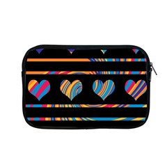 Colorful harts pattern Apple MacBook Pro 13  Zipper Case