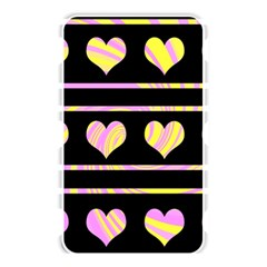 Pink and yellow harts pattern Memory Card Reader