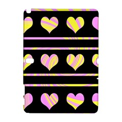 Pink and yellow harts pattern Galaxy Note 1