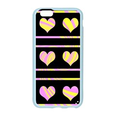 Pink and yellow harts pattern Apple Seamless iPhone 6/6S Case (Color)