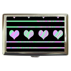 Pastel harts pattern Cigarette Money Cases