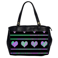 Pastel harts pattern Office Handbags