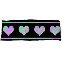 Pastel harts pattern Body Pillow Case (Dakimakura)