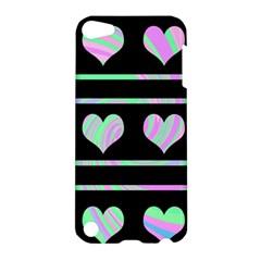 Pastel harts pattern Apple iPod Touch 5 Hardshell Case