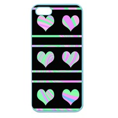 Pastel harts pattern Apple Seamless iPhone 5 Case (Color)