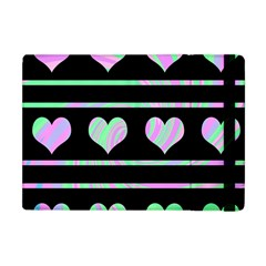 Pastel harts pattern Apple iPad Mini Flip Case