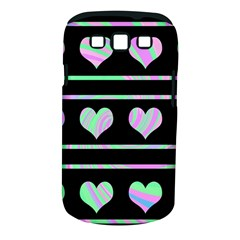 Pastel harts pattern Samsung Galaxy S III Classic Hardshell Case (PC+Silicone)