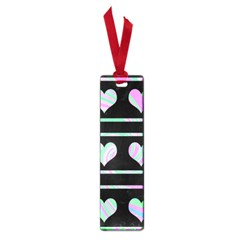 Pastel harts pattern Small Book Marks