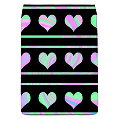 Pastel harts pattern Flap Covers (L)