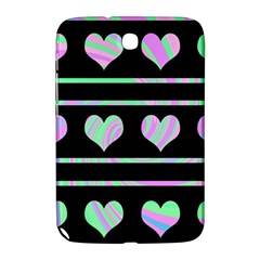 Pastel harts pattern Samsung Galaxy Note 8.0 N5100 Hardshell Case