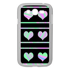 Pastel harts pattern Samsung Galaxy Grand DUOS I9082 Case (White)