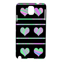 Pastel harts pattern Samsung Galaxy Note 3 N9005 Hardshell Case