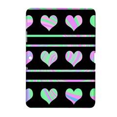 Pastel harts pattern Samsung Galaxy Tab 2 (10.1 ) P5100 Hardshell Case