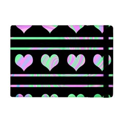 Pastel harts pattern iPad Mini 2 Flip Cases