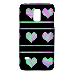 Pastel harts pattern Galaxy S5 Mini