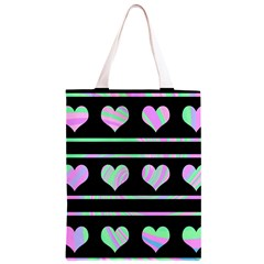 Pastel harts pattern Classic Light Tote Bag