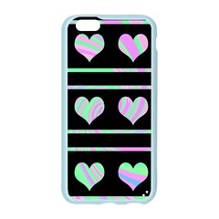 Pastel harts pattern Apple Seamless iPhone 6/6S Case (Color)