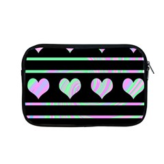 Pastel harts pattern Apple MacBook Pro 13  Zipper Case