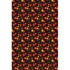 Exotic Colorful Flower Pattern 5.5  x 8.5  Notebooks