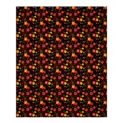 Exotic Colorful Flower Pattern Shower Curtain 60  X 72  (medium)