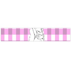 Cute Anime Girl Flano Scarf (Large)