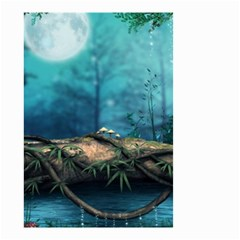 Fantasy nature  Small Garden Flag (Two Sides)